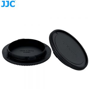 JJC L-RLL Rear Lens and Camera Body Cap Cover for Leica SL (Typ601) CL TL2 Panasonic S1 S1R S1H