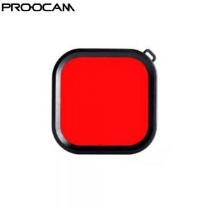 Proocam Pro-F266 Red filter Light Motion Night Under Sea Filter for Proocam Gopro Hero 8 waterproof case only