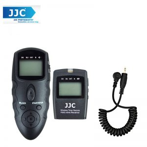 JJC WT-868 with Cable-A LCD Timer Remote for Camera Canon 5D 50D 7D 1D
