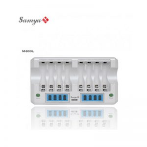 Enerpad M-800L Super Quick 8pcs  AA /AAA premium Charger with LCD Display