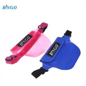 Bingo WP-032  waist pouch waterproof bag men women messenger bags belt  -Small Size  (Pink)