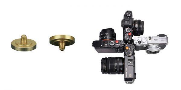 JJC SRB-C11DGD Gold Dark Metal Soft release button finger touch for Sony Leica Fujifilm X10 X20 X30 X100T X100