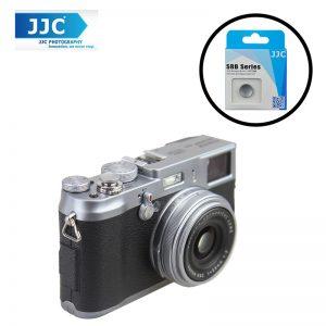 JJC SRB-C11GR Gray Metal Soft release button finger touch  for Sony Leica Fujifilm X10 X20 X30 X100T X100
