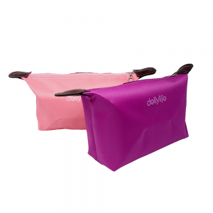 Dellylife CMB-PI Cosmetic Pouch Travel Small Bag Waterproof for cosmetics Stationary tools gadget product - PINK