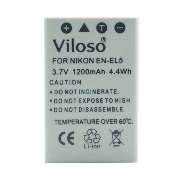 Proocam Nikon En-EL5 Compatible Battery for P500, P510, P100 P6000 Camera