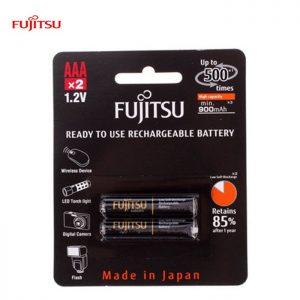 Fujitsu AAA rechargeable Battery 950mah (Min900ma) 2pcs pack -Made in Japan