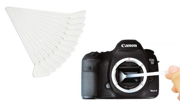 JJC CL-F24K 12X Full Frame Sensor cleaner Swab rod for Camera CCD CMOS Professional