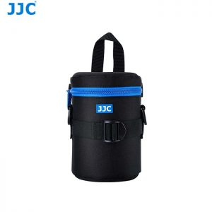 JJC DLP-2II Water Resistant Deluxe Lens Pouch with Shoulder Strap fits Lens Size below 80 x 152mm