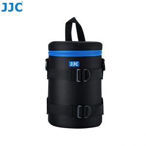 JJC DLP-5II Water Resistant Deluxe Lens Pouch with Shoulder Strap fits Lens Size below 113 x 215mm
