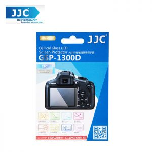 JJC GSP-1300D Tempered Optical Glass Camera Screen Protector 9H Hardness For Canon 1300D