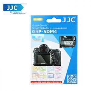 JJC GSP-5DM4 Tempered Optical Glass Camera Screen Protector For Canon 5D mark 4 IV