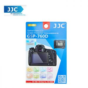 JJC GSP-760D Tempered Toughened Optical Glass Camera Screen Protector 9H Hardness For Canon EOS 760D