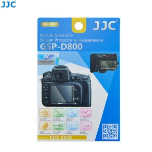 JJC GSP-D800 Tempered Toughened Optical Glass Camera Screen Protector 9H Hardness For Nikon D800
