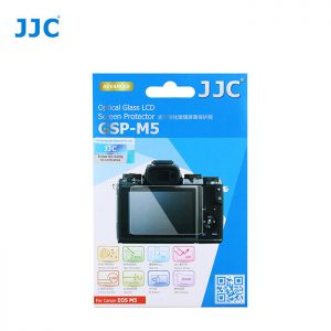 JJC GSP-M5 Tempered Optical Glass Camera Screen Protector For Canon EOS-M5