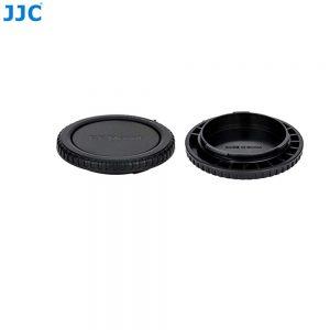 JJC L-RCRF Canon RF mount camera Body Rear Lens Cap Cover Set