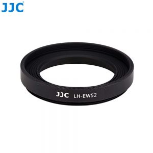 JJC  LH-EW52 Screw-in Metal Lens Hood Replaces Canon EW-52 for Canon RF 35mm f/1.8 Macro IS STM Lens Fits