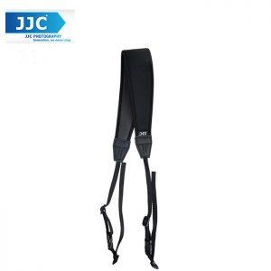 JJC NS-CBK Quick Release Professional Anti-Slip Shoulder Slider Strap for DSLR Camera Belt - Black