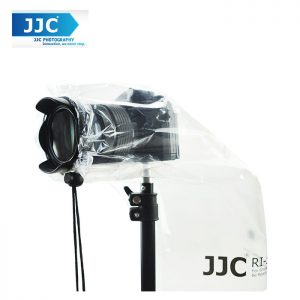 JJC RI-S Camera Rain Cover for DSLR Lens and Mirrorless Camera (2pcs)