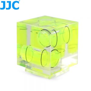 JJC SPY-1 Single 1 Axis Bubble Spirit Level for Hot Shoe Camera DSLR