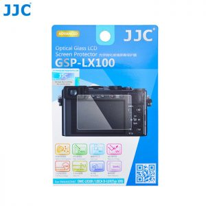 JJC GSP-LX100 Tempered Glass Camera Screen Protector For Panasonic DMC-LX100, Leica D-LUX