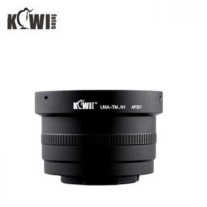 Kiwifotos LMA-TM_N1 T Mount Lens Adapter For Nikon 1 Digital cameras