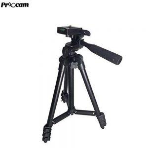 Proocam 3120 camera phone tripod portable Travel hand carry
