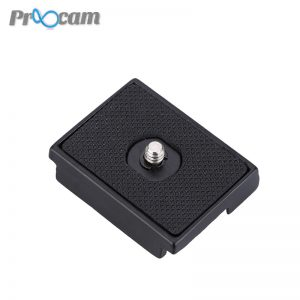 Proocam QLP-1-PLATE Quick release plate for tripod Camera (Replacement Manfrotto 200L)