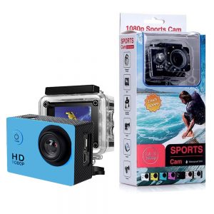 Sj50 HD 1080p Full 2.0 Inch Action  Sport Camera for Travel Full Set with accessories Blue