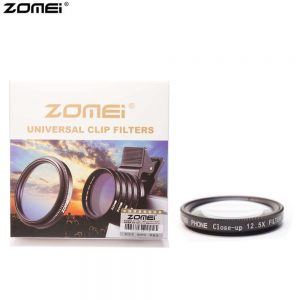 Zomei +12.5 Macro Mobile phone Filter 37mm for Iphone Vivo huawei oppo samsung