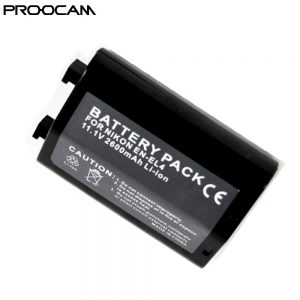 Proocam Viloso EN-EL4A Lithium-Ion Battery Pack for Nikon D3 D2